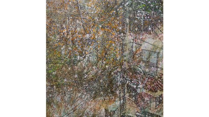 05 허수영, Untitled 06, 2018, Oil on Canvas, 45.5x45.5cm